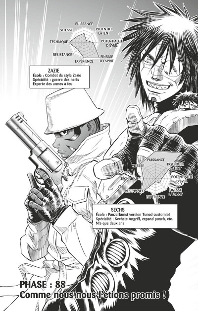 Page 8 Gunnm last order tome 15