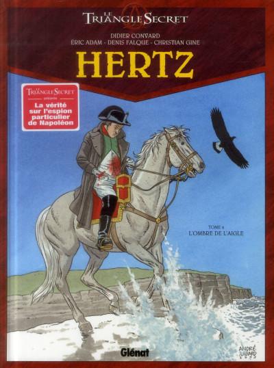 Couverture Le triangle secret - Hertz tome 4