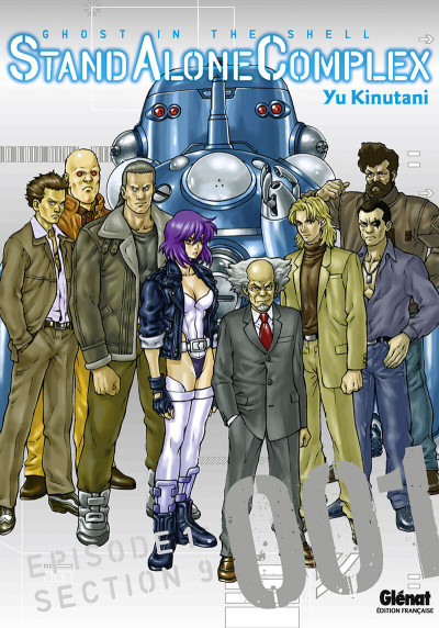 Couverture ghost in the shell - stand alone complex tome 1