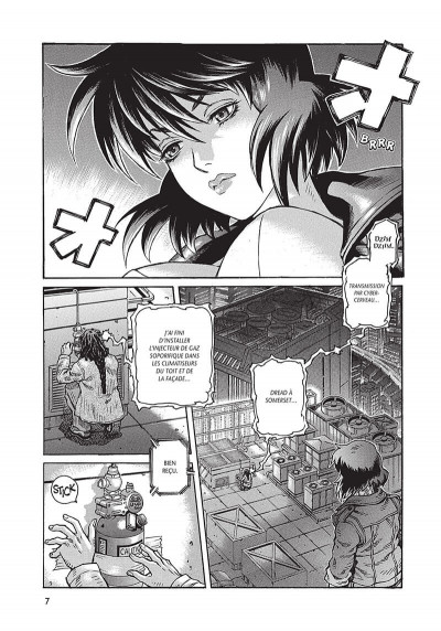 Page 8 ghost in the shell - stand alone complex tome 1