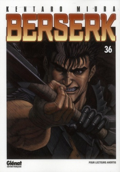 Couverture berserk tome 36