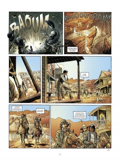 Page 3 down under tome 2 - poussières de rêve
