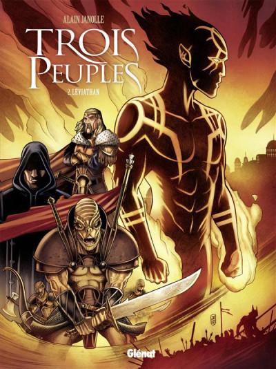 Couverture Trois peuples tome 2 - léviathan