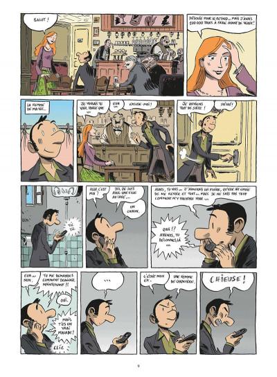 Page 0 chroniques d'un maladroit sentimental tome 1 - petit béguin & gros pépins
