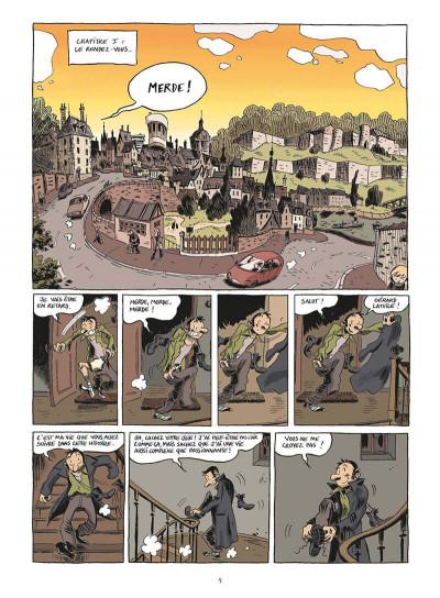 Page 6 chroniques d'un maladroit sentimental tome 1 - petit béguin & gros pépins