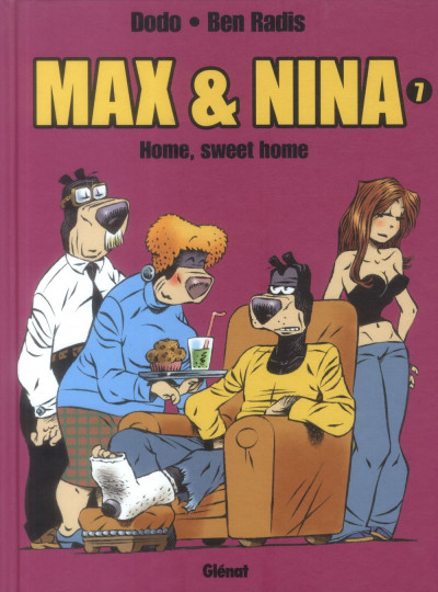 Couverture max et nina tome 7 - Home, sweet home