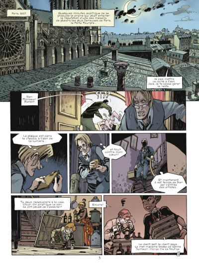Page 1 chimère(s) 1887 tome 3 - la furie de St Lazare