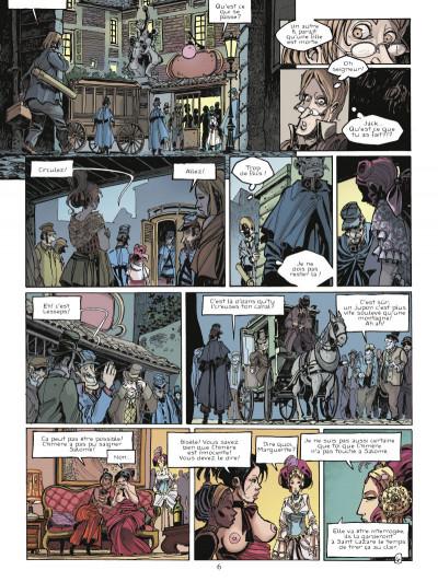Page 4 chimère(s) 1887 tome 3 - la furie de St Lazare
