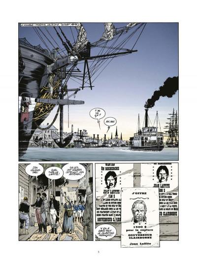 Page 1 Les pirates de Barataria tome 6