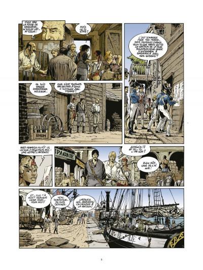 Page 3 Les pirates de Barataria tome 6