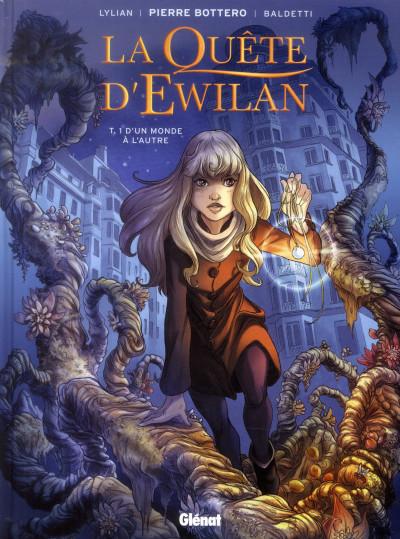 Couverture La quête d'Ewilan tome 1