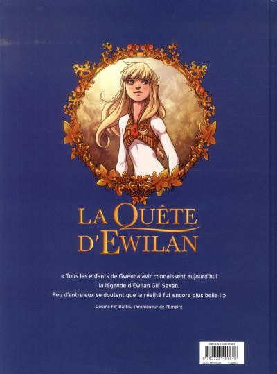 Dos La quête d'Ewilan tome 1