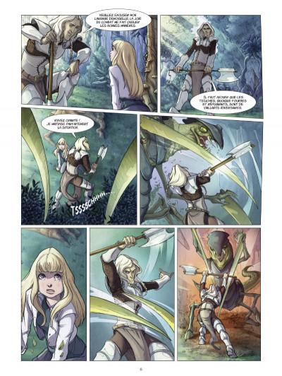 Page 4 La quête d'Ewilan tome 1