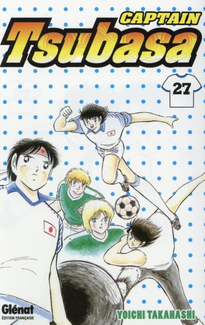 Couverture Captain Tsubasa tome 27