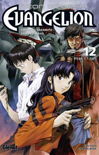 Couverture Neon-genesis evangelion tome 12