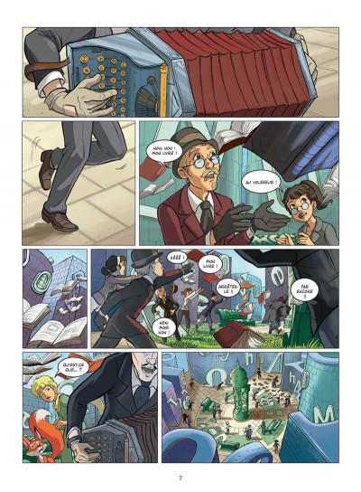 Page 0 le petit prince tome 11 - la planète des Libris