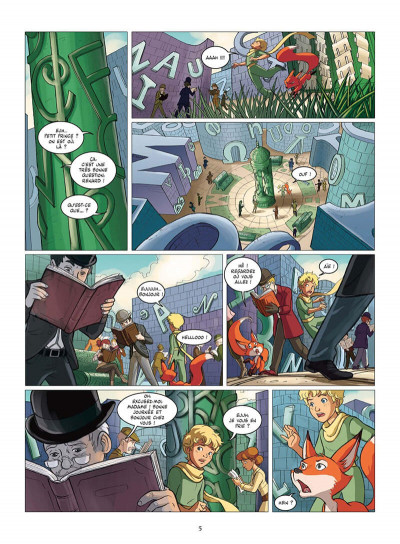 Page 8 le petit prince tome 11 - la planète des Libris