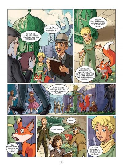 Page 9 le petit prince tome 11 - la planète des Libris