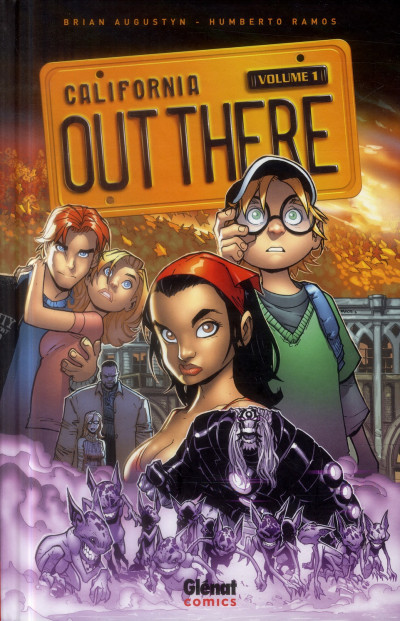 Couverture Out there tome 1