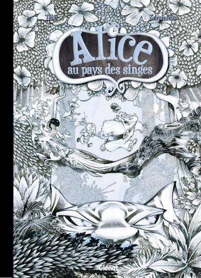 Couverture Alice au pays des singes - tirage de tête tome 1