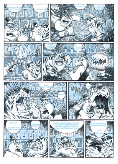 Page 2 Alice au pays des singes - tirage de tête tome 1