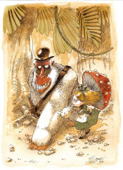 Page 4 Alice au pays des singes - tirage de tête tome 1