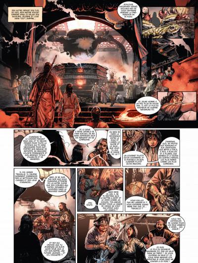 Page 2 La voie du sabre tome 2