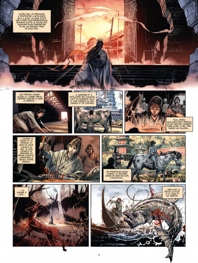 Page 3 La voie du sabre tome 2