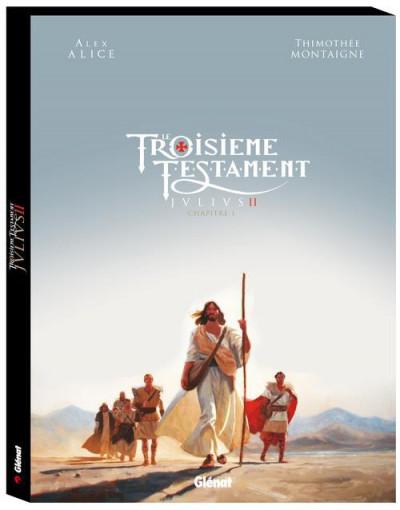 image de Le troisième testament - Julius - coffret tome 2 + album bonus
