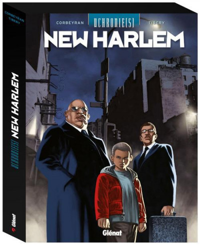 Couverture uchronie(s) - New Harlem - coffret tome 1 à tome 3