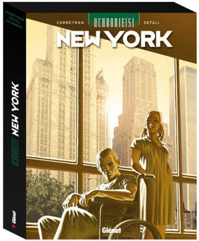 Couverture uchronie(s) - New York - coffret tome 1 à tome 3