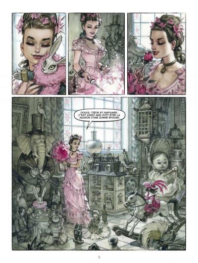 Page 1 douce, tiède et parfumée tome 1 - le doute