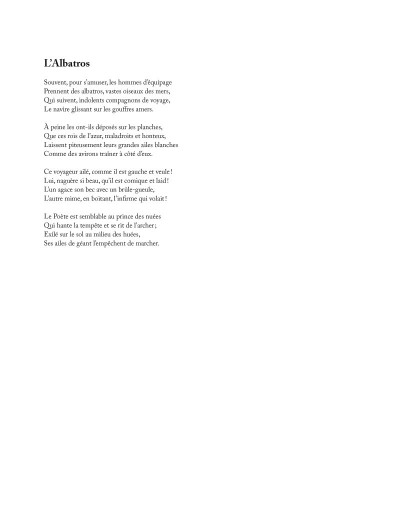 Page 1 Les fleurs du mal