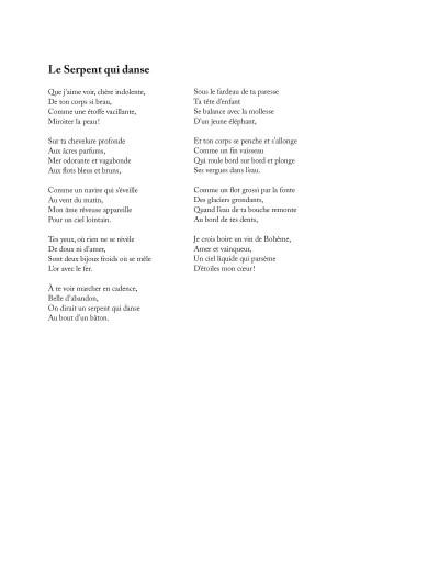 Page 3 Les fleurs du mal