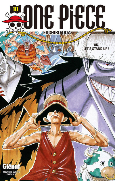 image de one piece tome 10 - ok, let's stand up !