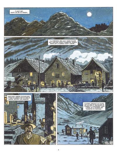 Page 1 les amants de l'Oisans ; Gaspard de la Meije et les sources de l'alpinisme