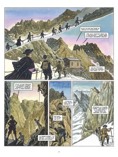 Page 3 les amants de l'Oisans ; Gaspard de la Meije et les sources de l'alpinisme