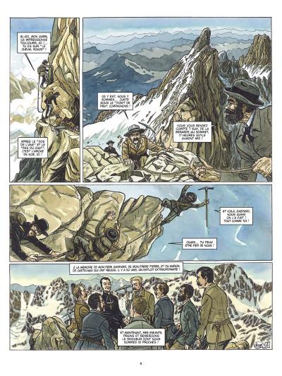 Page 4 les amants de l'Oisans ; Gaspard de la Meije et les sources de l'alpinisme