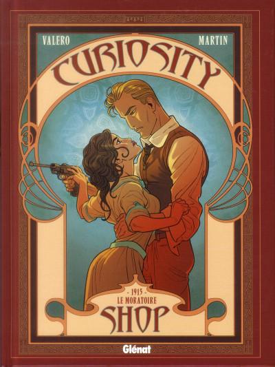 Couverture curiosity shop tome 3 - 1915 - le moratoire