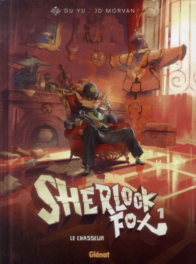 Couverture Sherlock fox tome 1