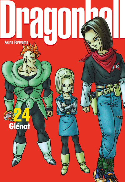 Couverture Dragon ball tome 24 - perfect édition