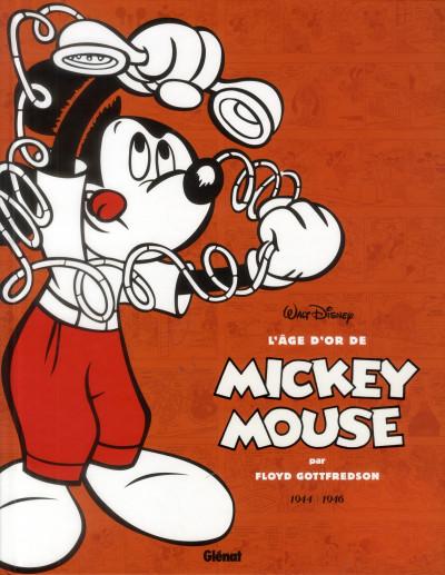 Couverture l'âge d'or de Mickey Mouse tome 6 - 1944-1946