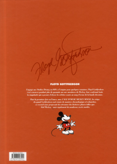 Dos l'âge d'or de Mickey Mouse tome 6 - 1944-1946