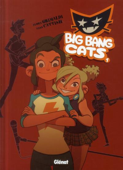 Couverture big bang cats tome 1 - naissance d'un groupe
