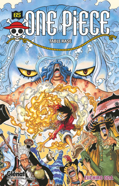 Couverture One piece tome 65