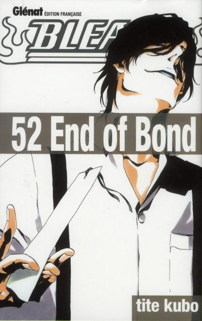 Couverture bleach tome 52 - end of bond