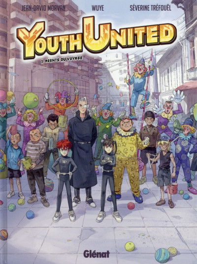 Couverture Youth united tome 1 - Agents du voyage