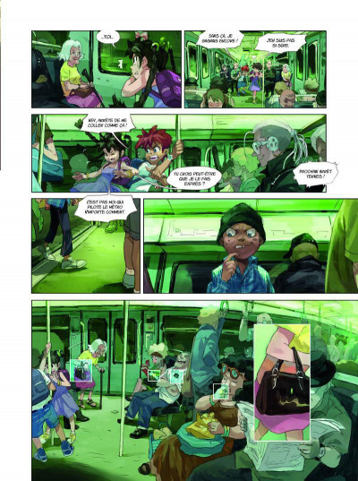 Page 3 Youth united tome 1 - Agents du voyage