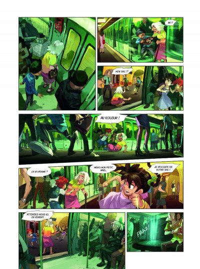Page 4 Youth united tome 1 - Agents du voyage