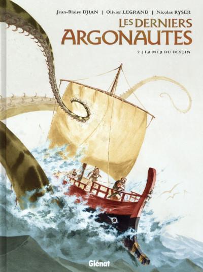 Couverture Les derniers argonautes tome 2 - La Mer du destin